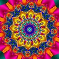 Blooming fractal