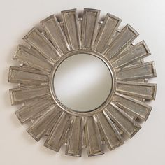 Luna Sunburst Mirror  really cute for the entry or above console table.