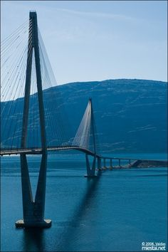 Helgeland Bridge - Norway ….Stay cheap and comfortable on your stopover in Oslo: www.airbnb.com/rooms/1036219?guests=2&s=ja99 and https://www.airbnb.com/rooms/6808361