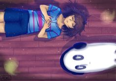 lay on the ground and feel like garbage by robosorcier on DeviantArt