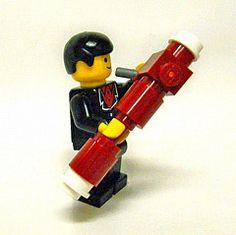 Lego Man Playing Bassoon