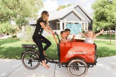 Electric Cargo Bike, Electric Tricycle, Tricycle Bike, Go Ride, Kids Seating, Bike Style, Custom Bikes, Retro, Kids Toys