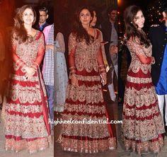 Bridal red dress... Very pretty!!