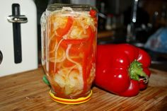 Preserves, Pickles, Stuffed Peppers, Vegetables, Cooking, Recipes, Kitchen, Preserve, Stuffed Pepper
