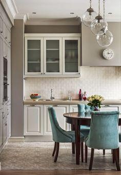 """дневник дизайнера: """"Туман над водой"""" - классический интерьер квартиры в оттенках серого!"""