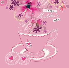 Happy Mother's Day (W93) #Floral Art Card by Lola http://www.thewhistlefish.com/product/w93-happy-mothers-day-card-by-lola