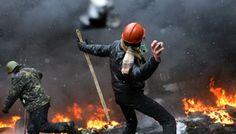 War in Kiev, Ukraine