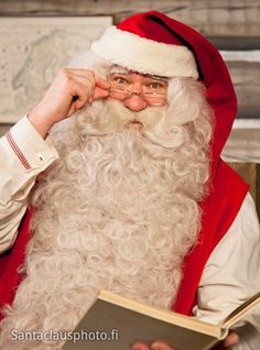 Santa Claus lives in Santa Claus Village in Finnish Lapland