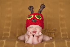 Very Hungry Caterpillar Hat Pattern Crochet by ShaynaMade, $4.50