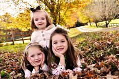 Cute fall family photo shoot by Amber S. Wallace Photography | Two Bright Lights :: Blog