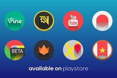 Dashboard App, Hd Icons, Android Icons, Free Icon Packs, Homescreen, How To Apply