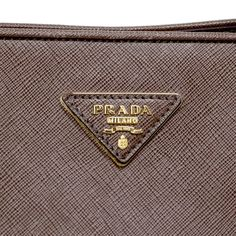 Prada Brown Saffiano Lux Double Handle Tote - modaselle Prada Saffiano, Porsche Logo, Chanel, Louis Vuitton, Handbags, Brown, Totes, Louis Vuitton Wallet, Purse