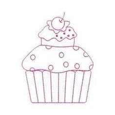 BabyNucci Bordados Designs -Cupcakes Singles | OregonPatchWorks