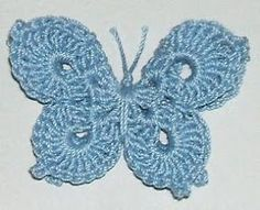 The Left Side of Crochet: 3-D Butterfly