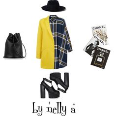 Look 205 by ada-nelli on Polyvore featuring мода, Monki, Warehouse, Yang Li and Assouline Publishing