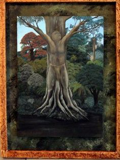 Tane Mahuta tree of New Zealand Maori Art, No Time For Me, Carving, Art Life, Fantasy, Kiwi, Painting, Culture, Inspiration