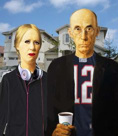 American Gothic Parodies  ✖️ART And IDEAS ➕More Pins Like This At FOSTERGINGER @ Pinterest ➖