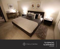 Tu Espacio Tu Estilo.  Visita nuestra Residencia Modelo y descubre casa CALZADA es la nueva forma de vivir en Mexicali.  Vive #calzadalife. Urban, Architecture, Bed, Furniture, Home Decor, Templates, Shape, Home, Live