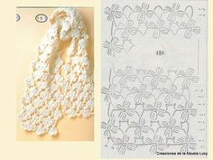 Rose unit crochet pattern