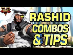 Rashid Combos & Tips with Street Fighter 5 Pro BushinStyle - Hitbox Street Fighter 5, I Love You, Comic Books, Comics, Tips, Count, Te Amo, Je T'aime, Cartoons