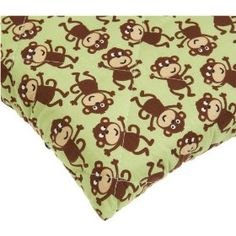 Monkey sheets for the pack n' play