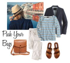"""""""Pack Your Bags"""" by bluehydrangea ❤ liked on Polyvore featuring J.Crew, Wrap, Steve Madden and Madewell"""