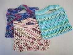 Free Crochet Patterns: Free Crochet Market Bags Patterns