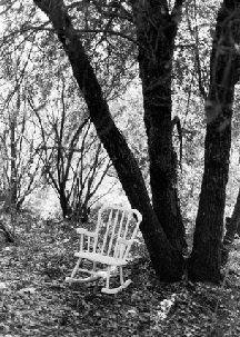 LOVE! black and white film photography! little white rocking chair ;) calaveras photography!