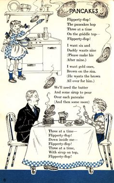 Bubbles of Joy: Happy Fat/Shrove Tuesday Retro Advertising, Vintage Advertisements, Shrove Tuesday Activities, Nursery Rhymes Poems, Pancake Day, Pancake Breakfast, Breakfast Club, Poetry For Kids, Vintage Children's Books