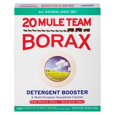 Check online or in your stores, but in Sept same product is much cheaper at Target than at Walmart, and even more elsewhere. Mule Team Borax All Natural Detergent Booster & Multi-Purpose Household Cleaner 65 oz : Target