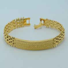 20.5CM,Gold Bracelet for Men - Gold Plated/Plating Jewelry Wholesale GP Bangle Link Bracelets for Women,NEW Han Chains #004902
