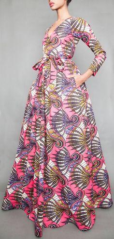 NOUVEAU la robe de Diana Maxi choisissez le par DemestiksNewYork Plus African Print Dresses, African Wear, African Women, African Dress, African Fashion, African Inspired Clothing, Modern Outfits, Mode Inspiration, Dress Me Up