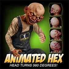 Animated Hex - Halloween Decorations