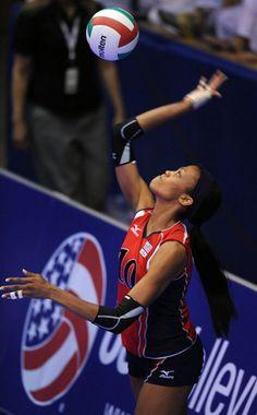 KIM GLASS, #USA London Olympics 2012 I LOVE VOLLEYBALL
