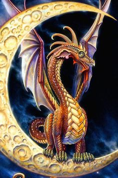 Moon Dragon ~ Myles Pinkney