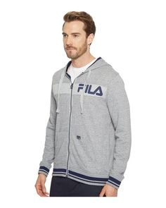 8c334bf3920976 Men s Gray Locker Room Zip-up Hoodie. Lyst