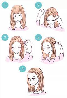 Peinados rápidos.