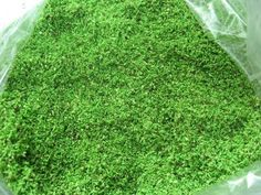 How To Make Artificial Grass for Models (home made) - YouTube