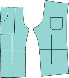 how to lengthen or shorten a pattern (via oliver + s)