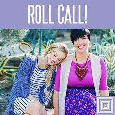 """Let's have a little roll call! Comment """"love"""" below. If I go live later and you make a purchase you may win some #lulacash towards your purchase. ☺👗👖#lularoe #notjustleggings #purelove"""