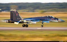 Russia - Air Force Sukhoi Su-35 photo by Dmitry Sharovatov