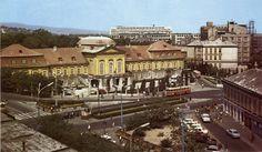 Námestie 1. mája, Bratislava 1950's? Bratislava, Old Photos, Mansions, Country, House Styles, Places, Times, Pride, Retro