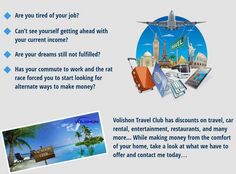 EXPLORE and receive compensation for something you can benefit from yourself as a Travel Professional while you book your own travel endeavors and from others booking through your travel portal...  JOIN: http://explore.luxurytravelsuite.info  #travel #business #opportunity #womeninbusiness #discounts #exclusivedeals #Workfromhome #Investment #entrepreneurs