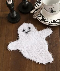 Ghostly Dish Scrubbe