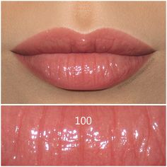 Giorgio Armani Ecstasy Shine Lipstick in 100 Smile, review and swatches