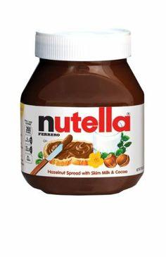 Ferrero Nutella Spread, Chocolate Hazelnut, 2-Count 26.5-Ounce - http://bestchocolateshop.com/ferrero-nutella-spread-chocolate-hazelnut-2-count-26-5-ounce/