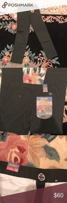 Dirty robbers denim jeans green size 30 Fits more like a 28/29 waist. Hence why I'm selling as they don't fit me. dirty robbers Jeans Slim