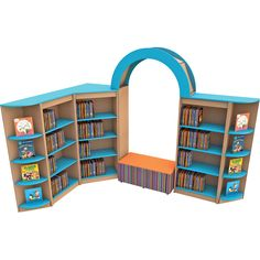 Part of our Elements value range of shelving, Elements Library Pack 2 is even more budget friendly than our regular ranges and is a self-contained shelving pack with a reading nook for primary school classrooms and libraries. Perfect Capsule, School Classroom, Reading Nook, Primary School, Adjustable Shelving, Footprint, Packing, Colours, Libraries