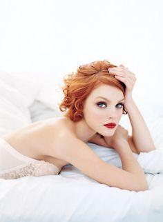 redhead #beauty #hair Beauty #beautiful #woman #black #sexy #lovely #brunette #exotic #seductive #blonde #redhead