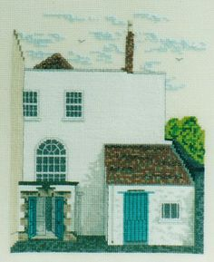 Cross stitch kit. John Wesleys Chapel The New Room in Bristol, is the oldest Methodist Chapel in the world.